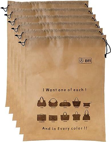 Women handbag covers storage bag dust cover LARGE Size Set of 6 Pcs 18X24 Inch