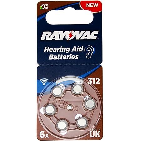 Varta Rayovac Acoustic Special 312 Hörgeräte Zellen Elektronik