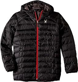 Geared Hoodie Synthetic Down Jacket (Big Kids)