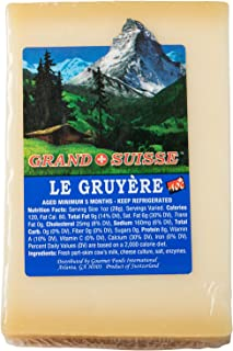 GRAND SUISSE Imported Swiss Gruyere, 8 oz