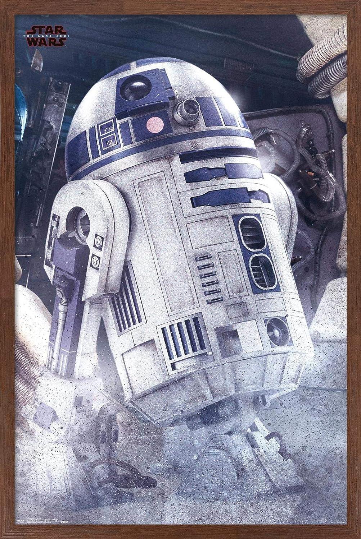 Trends International Star Charlotte Mall Wars: The Long-awaited Wall Poster Jedi-R2-D2 Last
