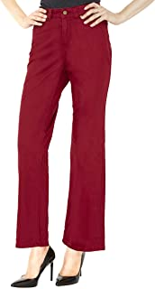 Croft & Barrow Straight Leg Woman's Pants – Soft Stretch Dress Trousers With Slimming Control Top – by