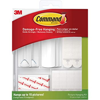 3M 17213ES Command Picture Hanging Kit, Multi-Pack