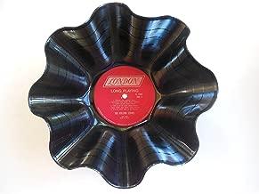 Vintage Rolling Stones Vinyl Record Bowl. Made Using an Original Rolling Stones Album.