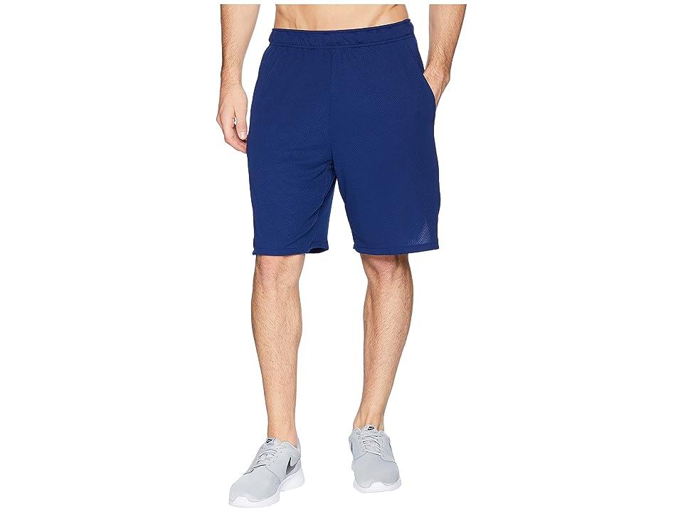 Nike Dri-FIT 9 Training Short (Blue Void/Black) Men