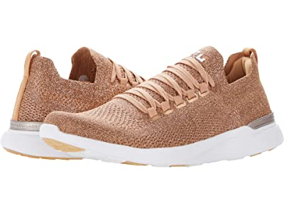 Athletic Propulsion Labs (APL) Techloom Breeze (Rose Gold/White) Women