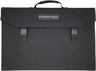 PORTEC ソーラーパネル 100W 充電器 折りたたみ USB DC ソーラーチャージャー 単結晶 軽量 太陽光発電 太陽光パネル 正規保証 日本人カスタマーサポート 防災グッズ 停電対策 車中泊 キャンプ