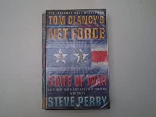 4 Tom Clancy's Net Force paperbacks: Breaking Point; Hidden Agendas; Springboard; State of War (Tom Clancy's Net Force)