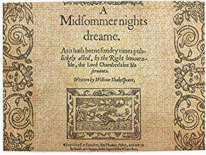 Ogauye Shakespeare, A Midsummer Night`s Dream 1600 Wooden Jigsaw Puzzles 500 Pieces Jigsaw Puzzles, Entertainment DIY Toys...