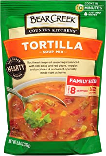 Bear Creek Soup Mix, Tortilla, 8.8 Ounce (Pack of 6)