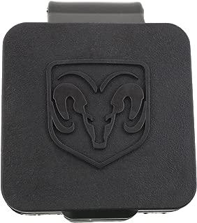 Genuine Dodge RAM Accessories 82208454AB Hitch Receiver Plug with RAM's Head Logo