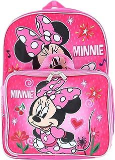 حقيبة ظهر ديزني ميني ماوس مع صندوق غداء