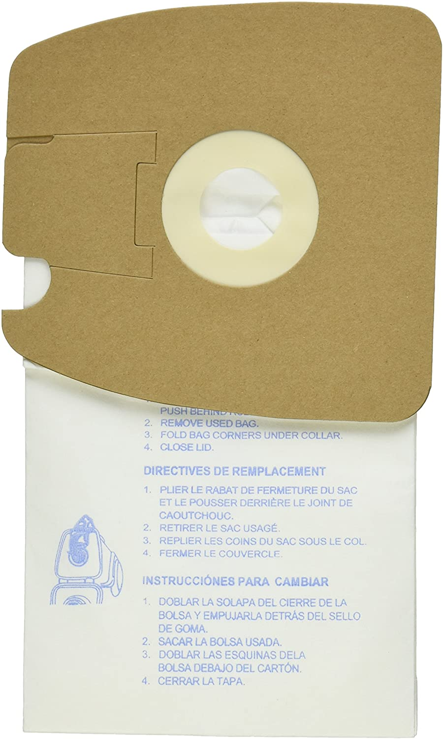 EnviroCare Eureka Style MM Micro-Filtration 9 Vacuum Bags - Pack Max 35% OFF 49% OFF