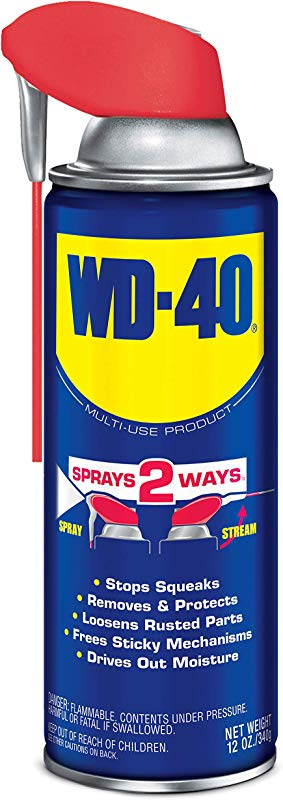 WD 40 Multi Use Product With SMART STRAW SPRAYS 2 WAYS 12 OZ