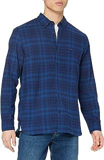 Tommy Hilfiger Indigo Check Shirt Camisa para Hombre
