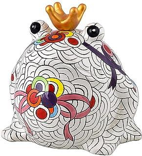 Pomme Pidou | skarbonka ceramiczna | żaba Freddy | ekstra duża | Ceramiczna skarbonka z otworem na monety i bardzo piękną ...