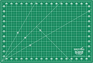 Precision Quilting Tools Professional Self-Healing Double Sided Rotary Cutting Mat 12