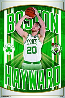 Trends International NBA Boston Celtics - Gordan Hayward Wall Poster, 22.375