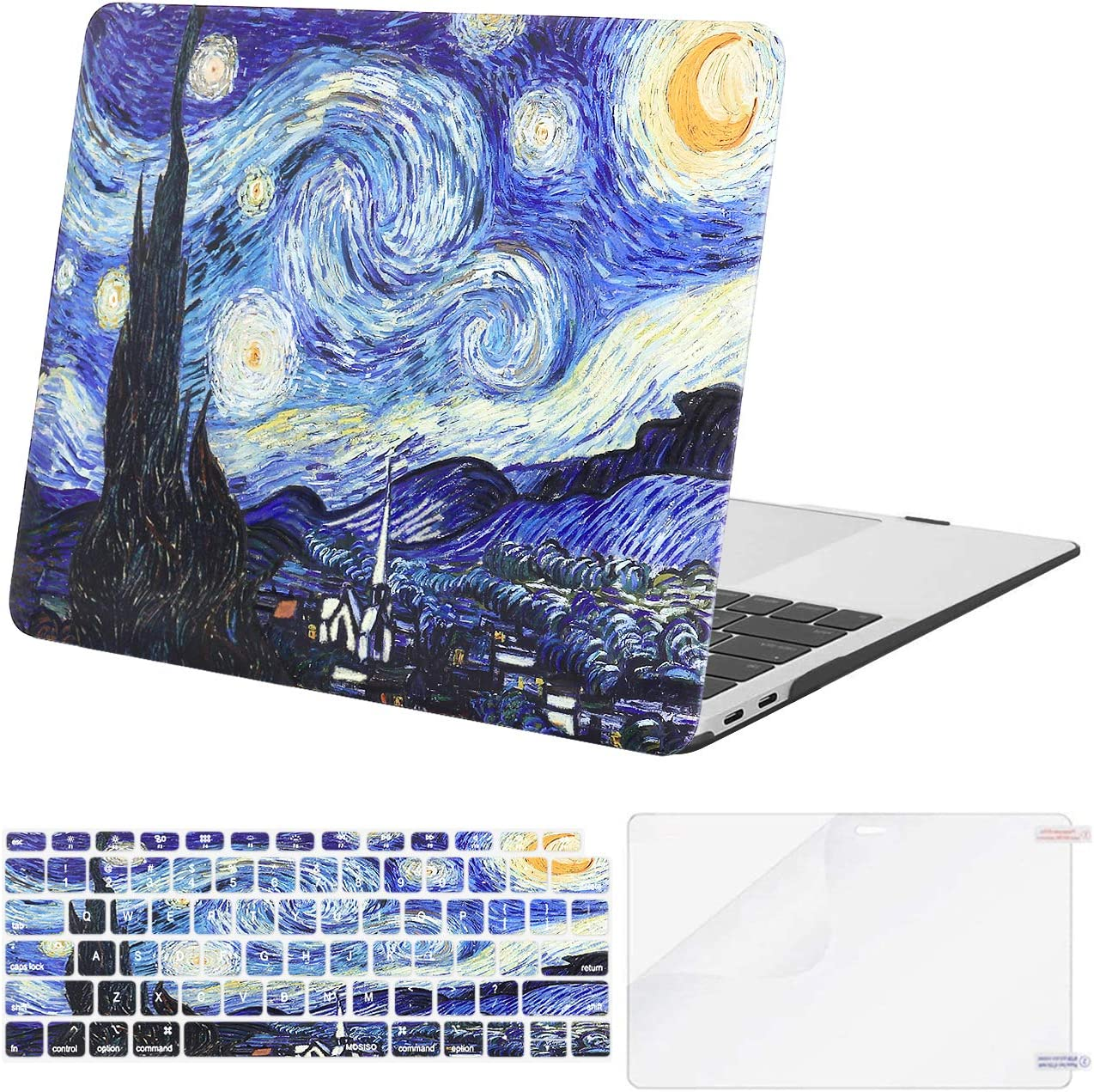 MOSISO Compatible 100% quality Super sale warranty with MacBook Air 13 2019 2021 2020 inch Case 2