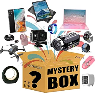 MKKYDFDJ Mystery Box, Mystery Box Electronics, Mystery Boxes Random, Surprise Box for Kids Adults Surprise Gift, Birthday ...