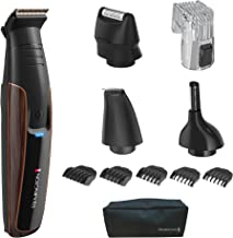 Remington PG6170 The Crafter: Beard Boss Style and Detail Kit, Beard Trimmer with Titanium-Coated Blades (11 Pieces), Copper
