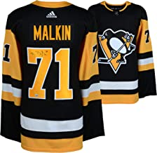 Evgeni Malkin Pittsburgh Penguins Autographed Black Adidas Authentic Jersey - Fanatics Authentic Certified