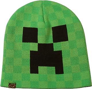 JINX Minecraft Creeper Face Knit Beanie
