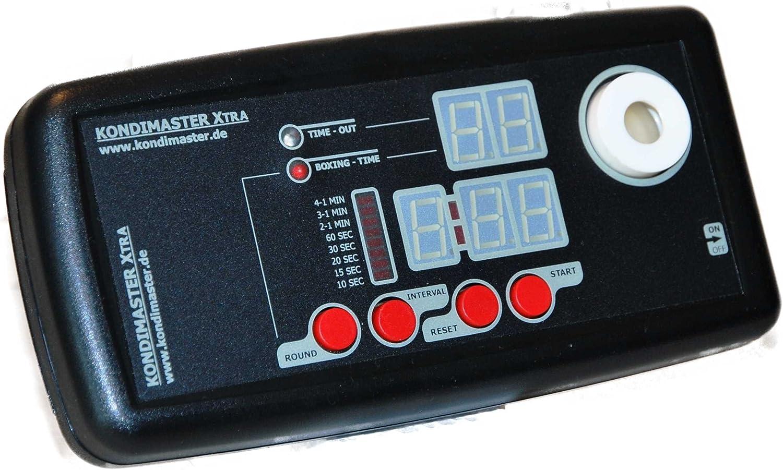 Intervall Timer  KondiMaster XTRA  mit digitalem Display für Zeit- und Rundencountdown. Unser TOP Gert.