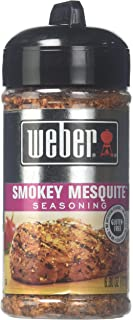 Weber Grill Smokey Mesquite Seasoning, 6 Ounce