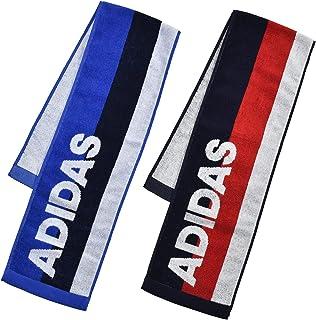 [アディダス] タオルマフラー アディダスタオルマフラー2枚セット 32901763 32901763A ブルー/ネイビー 15cmx90cm