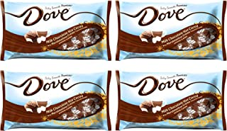 Dove Milk Chocolate Hot Cocoa Promises with Marshmallow Creme- Pack of 4 Bags - 7.94 oz Per Bag (Hot Cocoa 4 Pack)