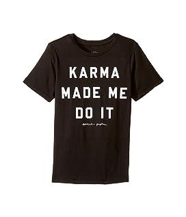 Karma Made Me Tee (Big Kids)