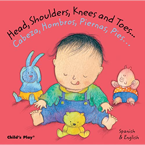 Head, Shoulders, Knees and Toes/Cabeza, Hombros, Piernas, Pies (