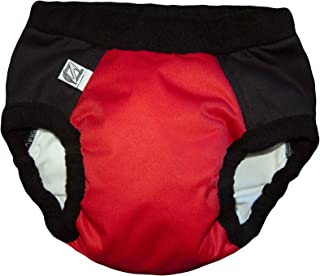 Super Undies! Bedwetting Pants Nighttime Underwear, The Web Slinger (Red), Size 3 (XL) 6-9 yr Old