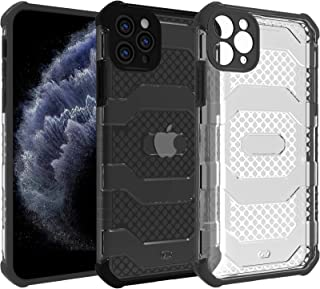 Restoo Case for iPhone 11 Pro Max, Rugged 360 Degree Full Body Shockproof Case Heavy Duty Protection Anti-Slip PC Back wit...