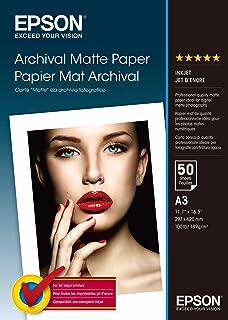 Epson A3 Archival Matte Paper 50 Sheets S041344