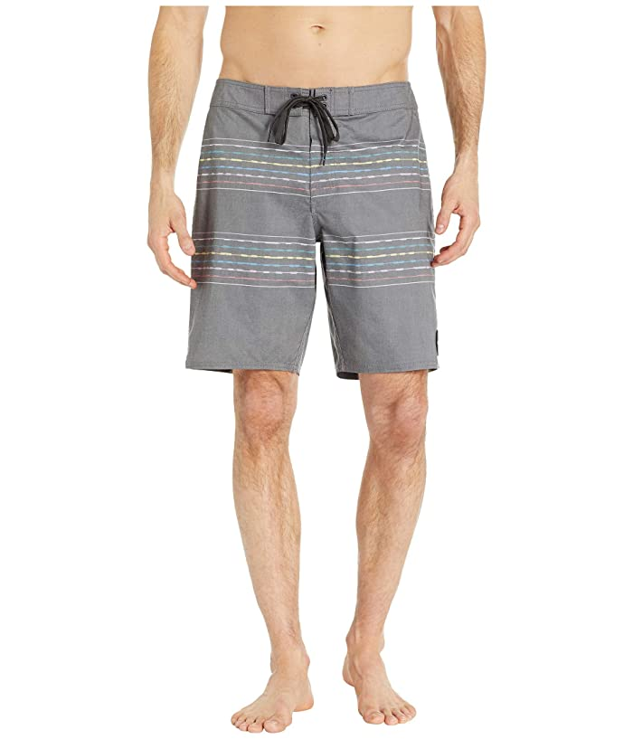 RVCA Double Vision Trunks (Black) Men