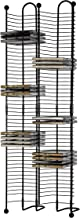 Atlantic Nestable 100 CD Tower - Holds 100 CDs, Efficient Side by Side Space-Saving Design, Heavy Gauge Steel Constructio...