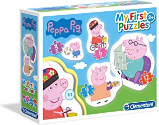 Clementoni 20808–Peppa Pig My First Puzzle
