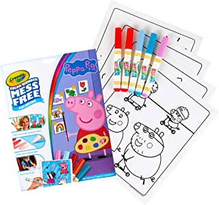 Crayola Color Wonder Peppa Pig Coloring Book Pages,75-7000