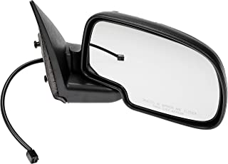 Dorman 955-061 Side View Mirror - Right, Power, Non-Heated, Black And Chrome, With 3 Connectors