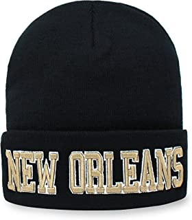 Classic Cuff Beanie Hat - Black Cuffed Football Winter Skully Hat Knit Toque Cap