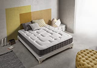 Living Sofa Gran COLCHÓN VISCOGRAFENO 180X190 SIMPUR Relax Royal ® | 30 CM Grosor | FIRMEZA Maximo Confort | Alta Gama | 100% Temperatura Optima para EL Descanso | Soporte Alta Durabilidad