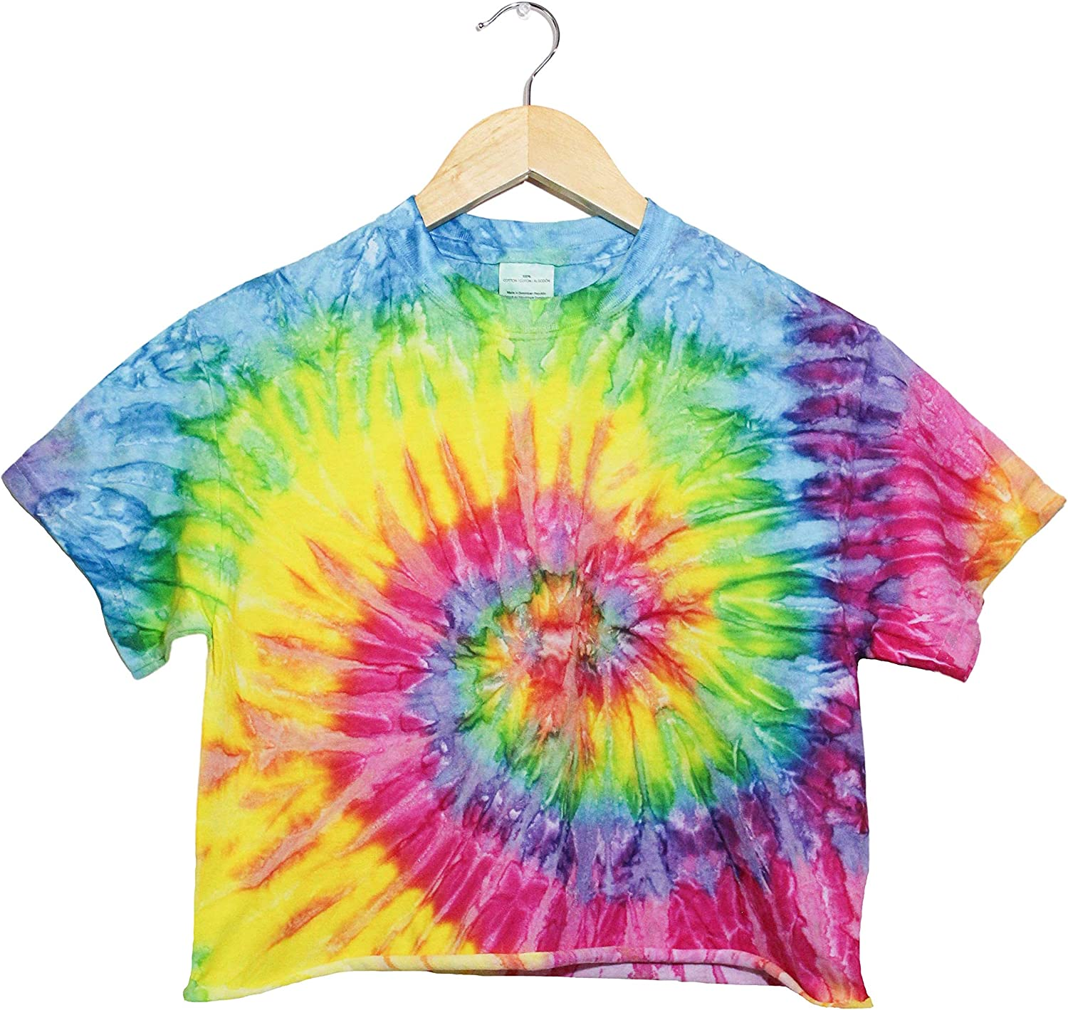 Hand-dyed crop top