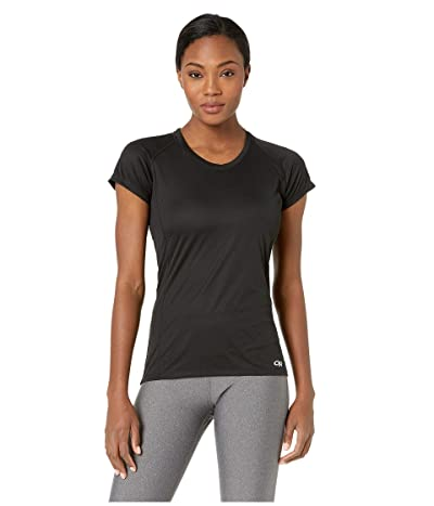 Outdoor Research Echo Short Sleeve Tee (Black) Women