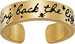 Wrinkle In Time - Bring Back the Light Adjustable Ring