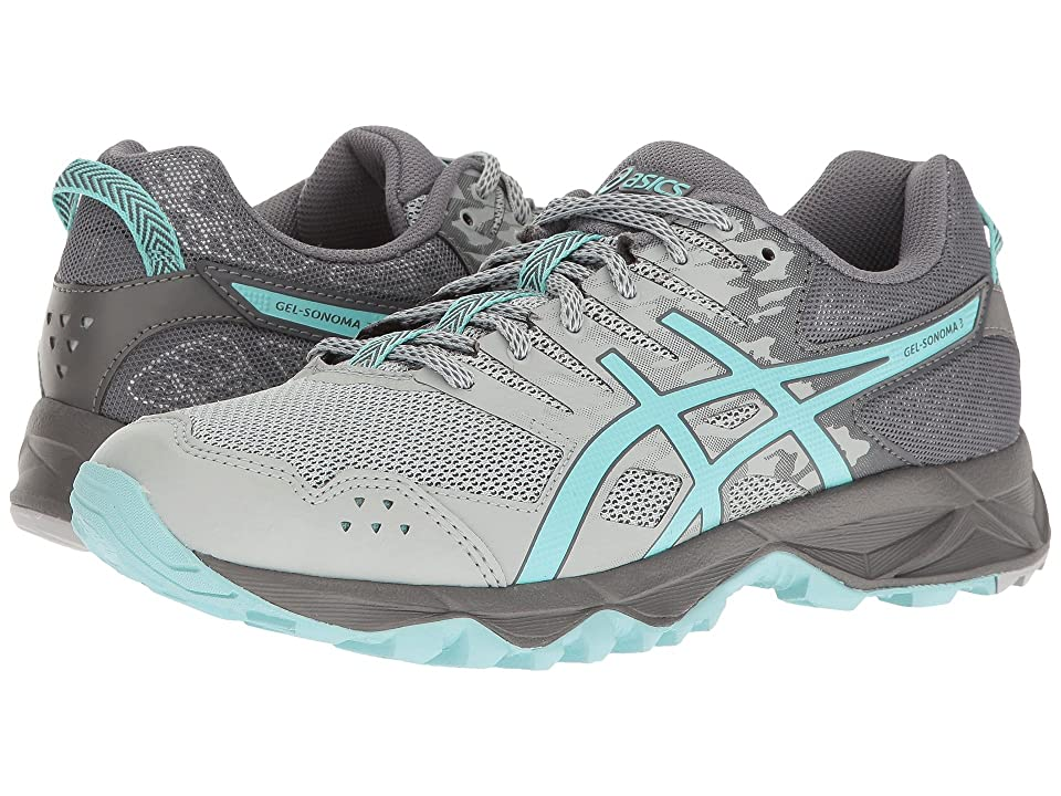 ASICS GEL-Sonoma 3 (Mid Grey/Aqua Splash/Carbon) Women