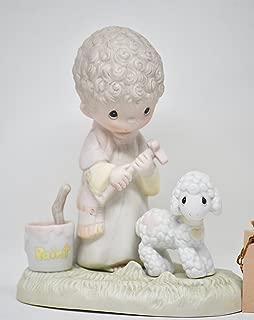Precious Moments Figurine His Sheep Am I #E-7161