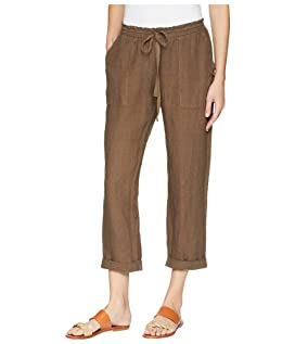 Callie Rolled Linen Pant