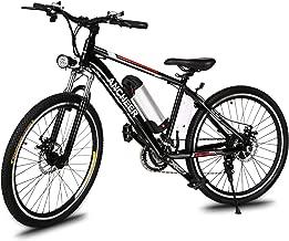 ANCHEER 500W/250W Electric Bike Adult Electric Mountain Bike, 26